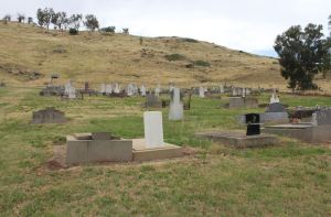 Cemetery at Bethanga