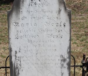 Grave of Maria Weule