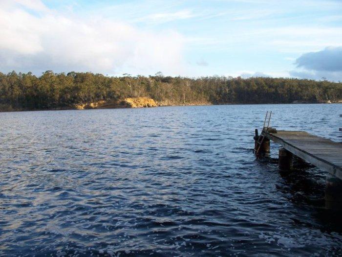 Sandrock Bay Tasmania