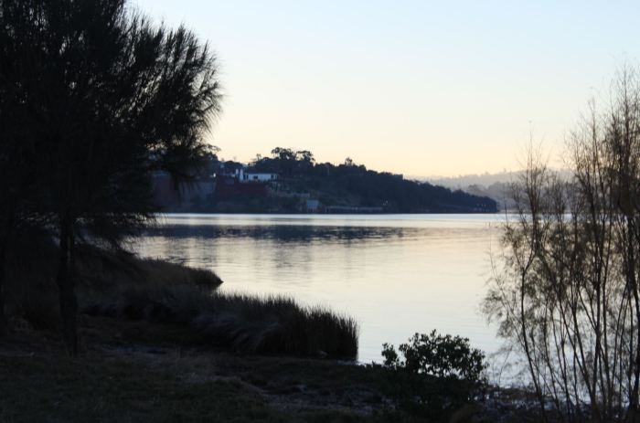 Derwent River near Rosetta