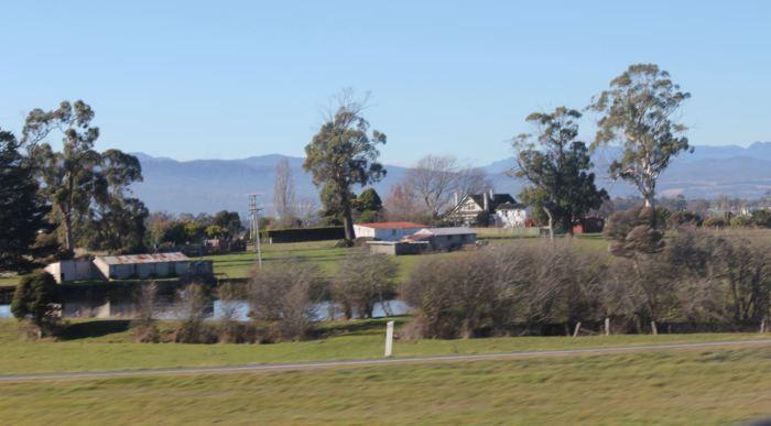 Town very near Launceston Tasmania