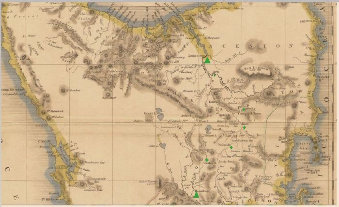 Part of Tasmania 1837