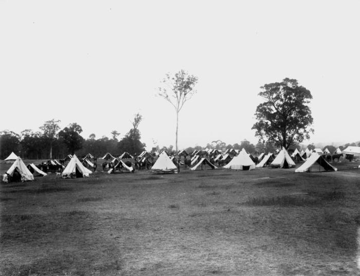 StateLibQld_1_137787_Enoggera_Army_Camp,_ca._1914